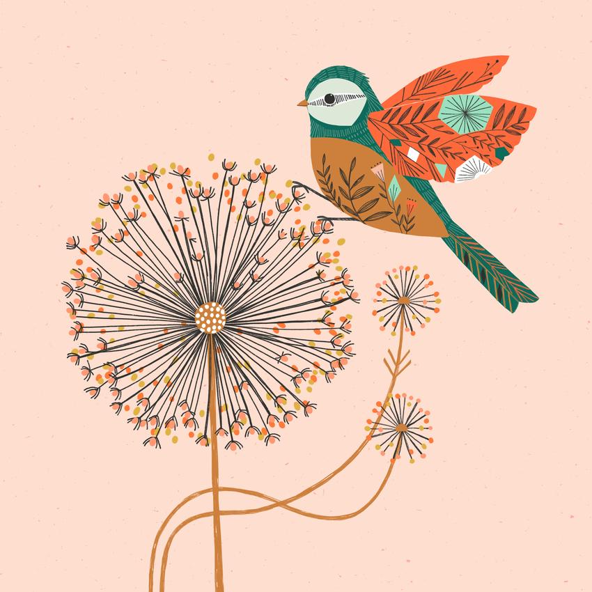 BethanJanine_Dandelion_Flower_Bird.jpg