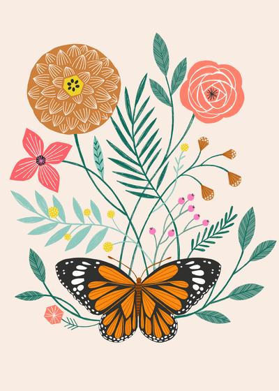 bethanjanine-monarch-butterfly-floral-jpg