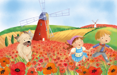 hansol-education-poppies-windmill-jpg
