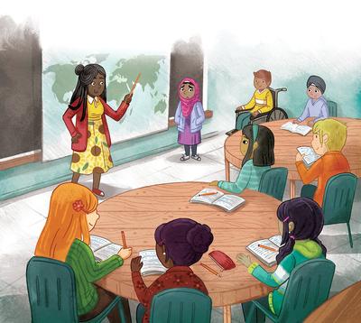 class-kids-teacher-multicultural-school-classroom-teaching-map-books-tables-jpg