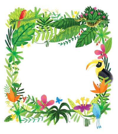thejunglebook-titlepagefloraljungleframe-jpg