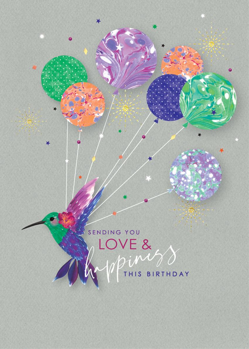 female birthday daughter sister niece goodbye abd good luck hummingbird and balloons.jpg