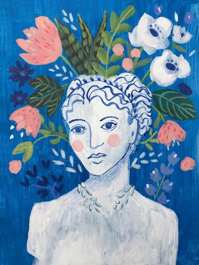 montgomery-mykonos-statue-bust-floral-jpg