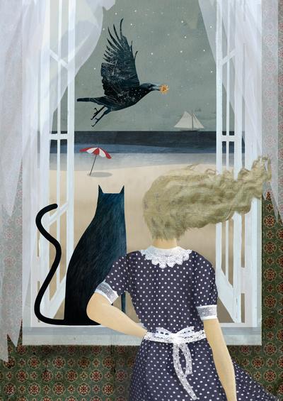 girl-cat-bird-sea-window-jpg