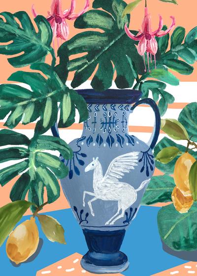 montgomery-pegasus-urn-tropical-plants-lemons-jpg
