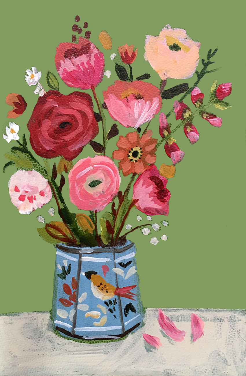 SMO_bouquet_flowers_tin_vase_bird_green_ground.jpg