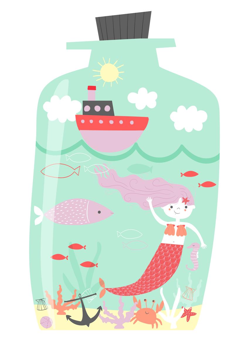 AP_Mermaid in a Bottle_Nautical_Underwater_Sealife_Kids_Character Design-01.jpg