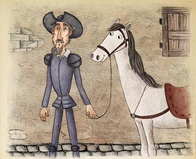 quijote-and-a-horse-jpg