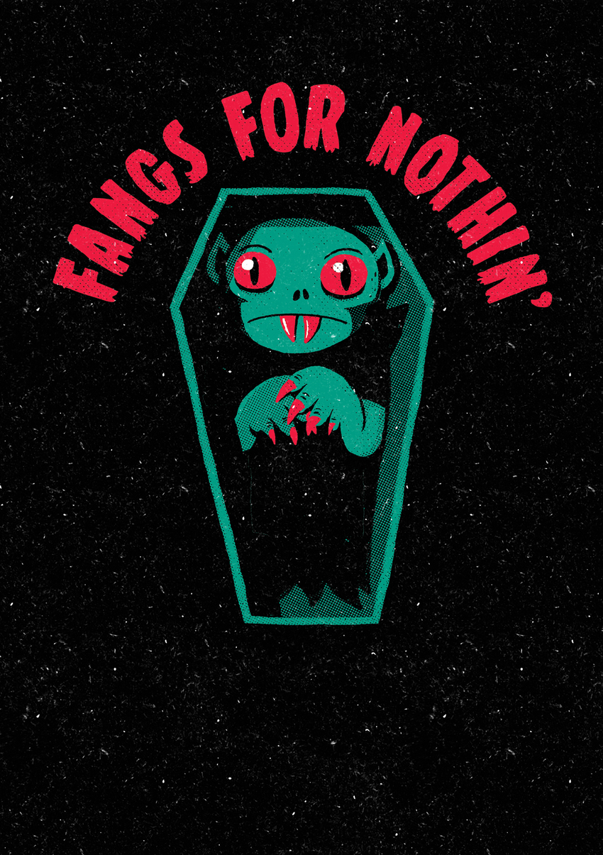 Michael Buxton - Fangs For Nothin - MB.jpg