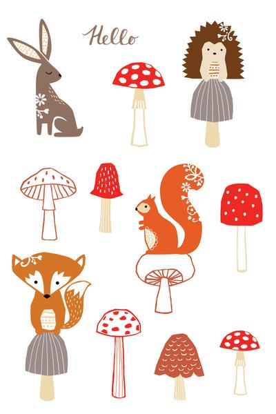 las-woodland-animals-and-mushrooms-jpg