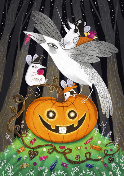 laura-borio-halloween-mice-pumpkin-candies-jpg