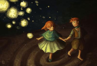 brother-sister-dance-stone-night-jpg