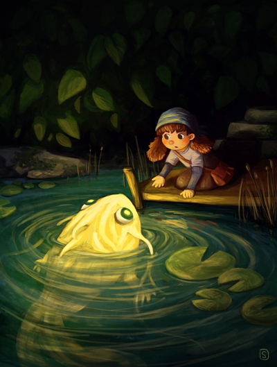 girl-adventure-pond-creature-night-jpg