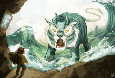 monster-sea-waves-cave-boy-jpg