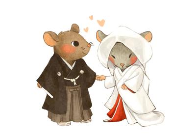 mouse-japanese-wedding-jpg