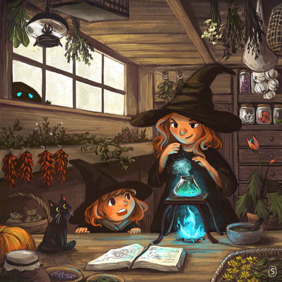 witch-magic-cat-house-herbs-plants-jpg