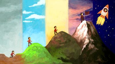 climb-mountain-man-rocket-png