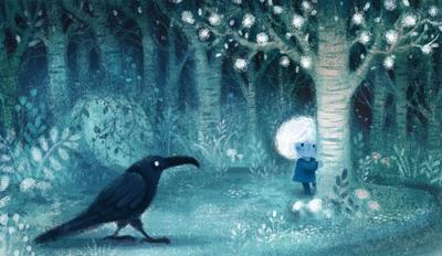 forest-girl-crow-jpg