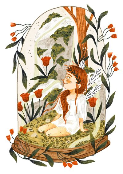 moss-fairy-woman-girl-fairy-glass-red-hair-plants-flowers-jpg
