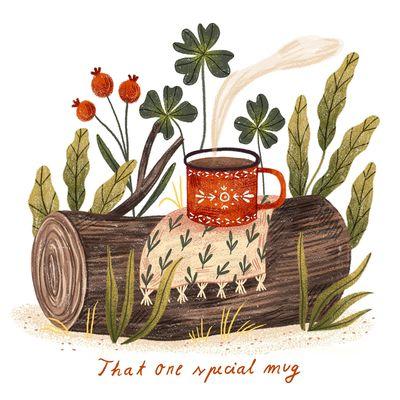 red-mug-mug-nature-plants-log-red-jpg