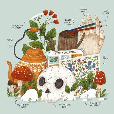 souvenir-tea-hand-nature-flowers-skull-teapot-jpg