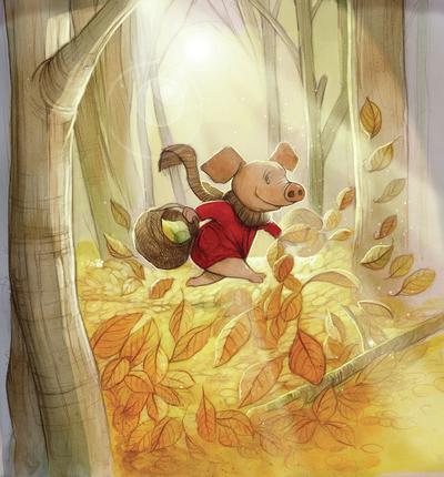 autumn-pig