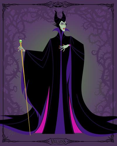 disney-villains-trading-cards-maleficent