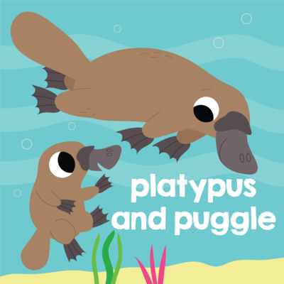 platypus-and-puggle-cute-babies