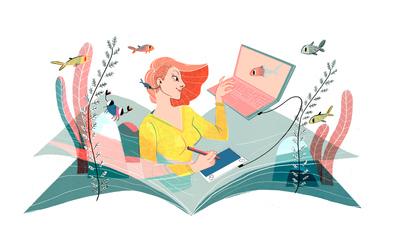 liliamiceli-sea-girl-fish-crab-book-pc-drawing-jpg