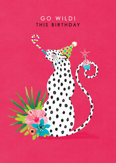leopard-with-birthday-whistle-female-birthday-animal-print-spots-tropical-floral-african-jaguar-comic-humour-1-jpg
