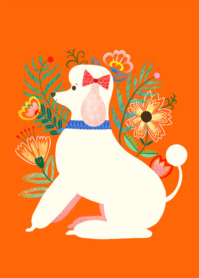 pimlada-phuapradit-floral-poodle-jpg