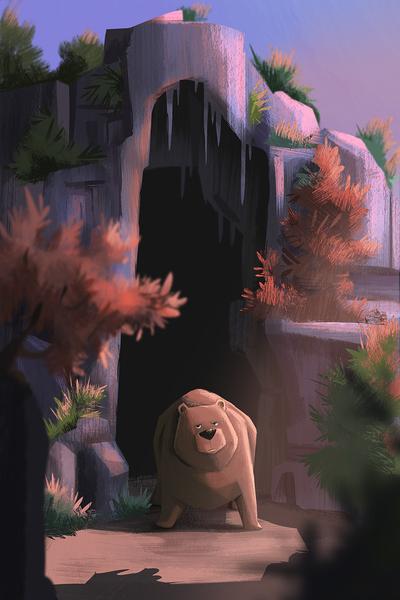bear-forest-cavern-trees-jpg