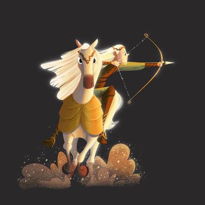 elf-horse-ride-bow-arrow-jpg