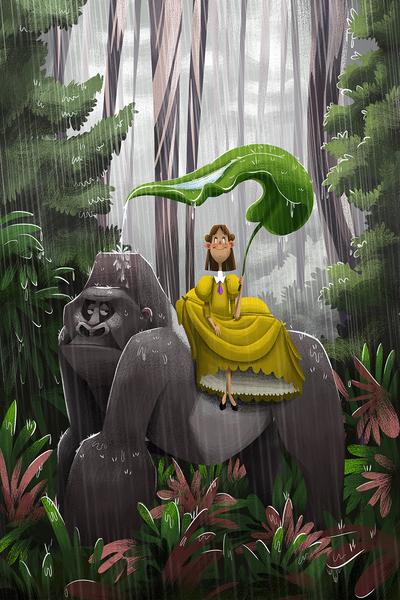jane-jungle-gorilla-raining-jpg