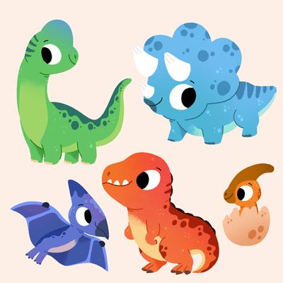 dino-babies