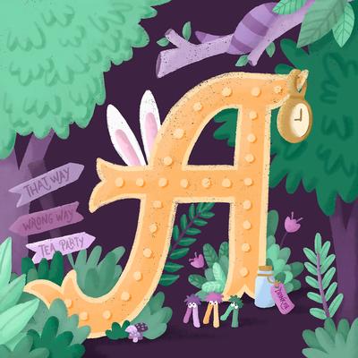 letter-a-aliceinwonderland-illustration-jpg