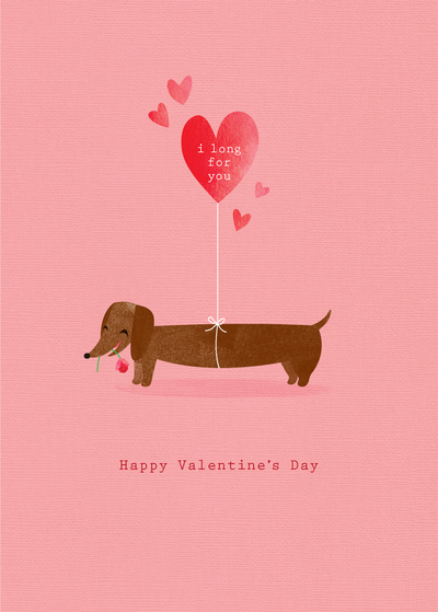 debbie-edwards-valentines-day-miss-you-love-comic-humour-wife-partner-girlfriend-sausage-dog-dachshund-with-hearts-jpg