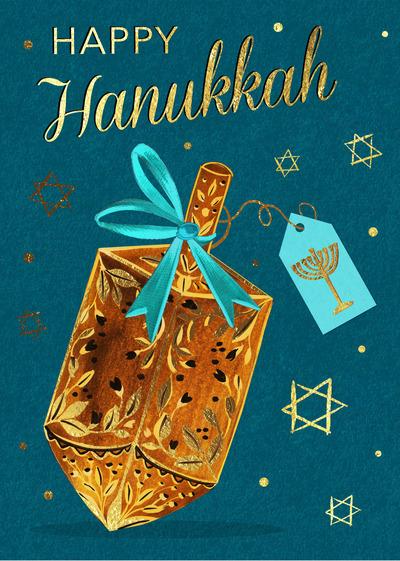 victoria-nelson-happy-hanukkah-gold-dreidel-ribbon-tag-jpg