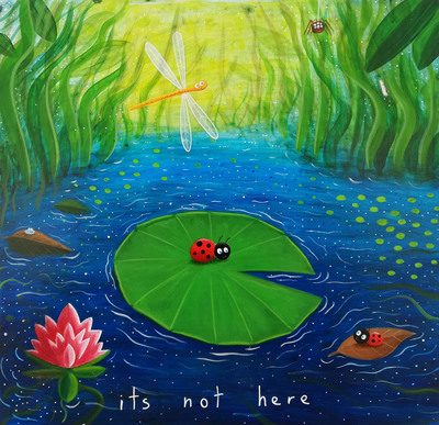 hospital-mural-fairy-lilypond-ladybird-dragonfly-spider-pond-children-s-book-jpg