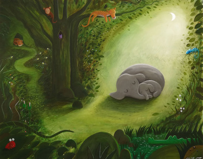 hospital-mural-jungle-night-jungle-mural-elephant-leopard-children-s-book-jpg