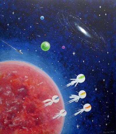 hospital-mural-space-1-mural-space-planet-robot-jpg