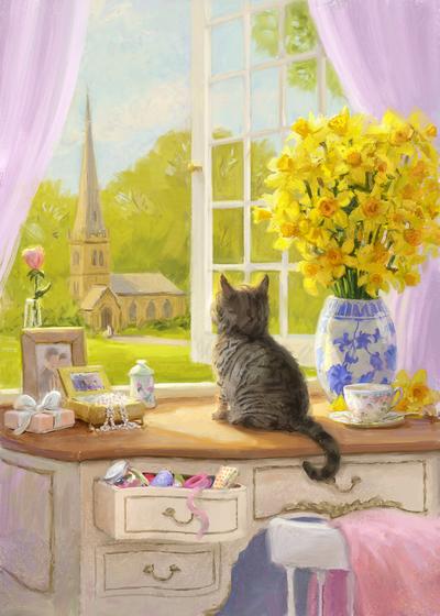 85095-kitten-daffodils-and-church-jpg