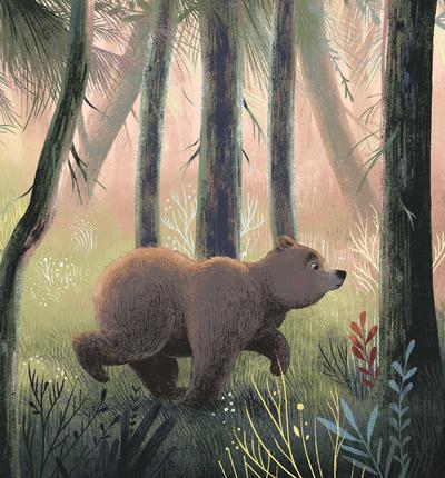 running-bear
