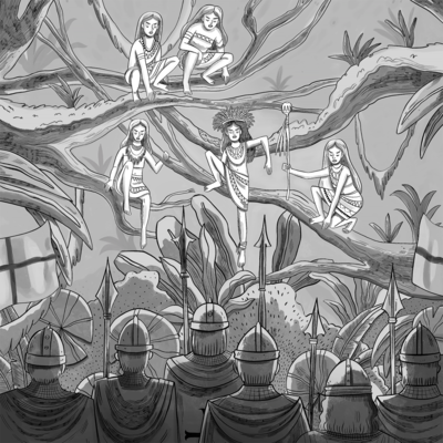 burgama-witches-line-art