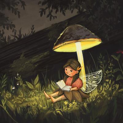 fairy-mushroom-forest-night-reading-jpg