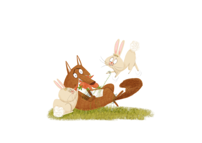 fox-and-bunnies2-png