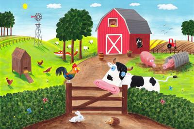 farmyard-scene
