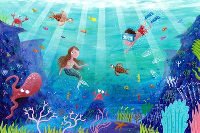 underwater-scene