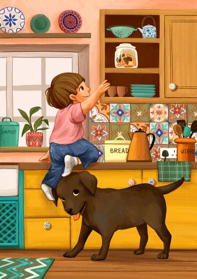 boy-dog-kitchen-home-jpg