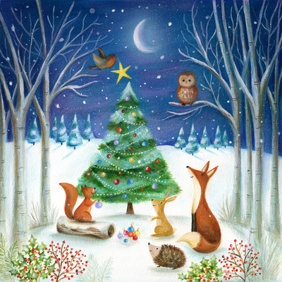 christmas-tree-fox-squrriel-robin-hedgehog-rabbit-star-woodland-jpg